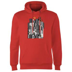 Die Unglaublichen 2 Skyline Hoodie - Rot