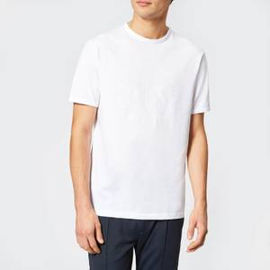 Armani Exchange Men's Tonal Logo Reg Fit T-Shirt - White