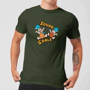 The Flintstones Squad Goals Men's T-Shirt - Forest Green