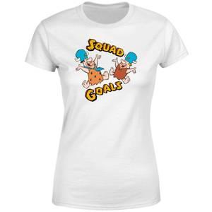 The Flintstones Squad Goals Women's T-Shirt - White