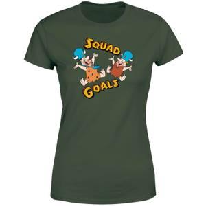 The Flintstones Squad Goals Women's T-Shirt - Forest Green