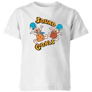 The Flintstones Squad Goals Kids' T-Shirt - White