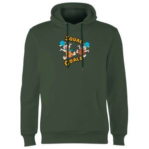 The Flintstones Squad Goals Hoodie - Forest Green