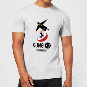 Subbuteo Kung Fu Men's T-Shirt - Grey