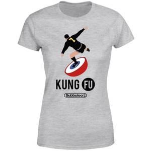 Subbuteo Kung Fu Women's T-Shirt - Grey