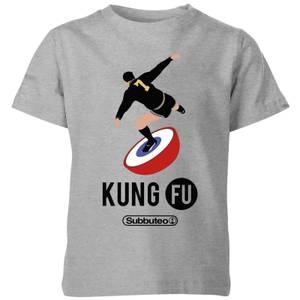 Subbuteo Kung Fu Kids' T-Shirt - Grey