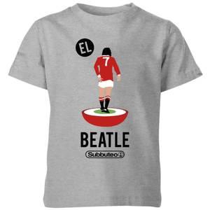 Subbuteo EL Beatle Kids' T-Shirt - Grey