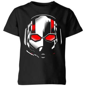 Ant-Man And The Wasp Scott Mask Kids' T-Shirt - Black