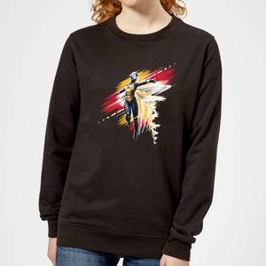 Ant-Man And The Wasp Brushed Women's Sweatshirt - Black