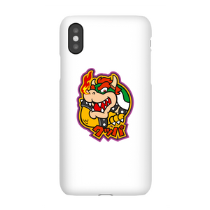 Nintendo Super Mario Bowser Kanji Phone Case