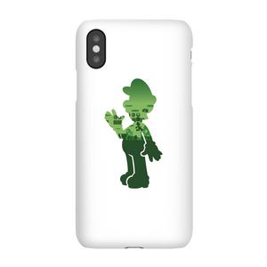 Cover Telefono Nintendo Super Mario Luigi Silhouette per iPhone e Android
