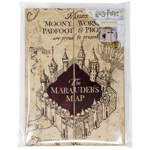 Harry Potter Marauder's Map (sluipwegwijzer) A5 notitieboek