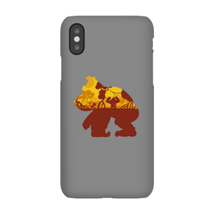 Coque Smartphone Silhouette Donkey Kong Mangrove pour iPhone et Android