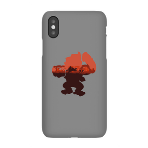 Coque Smartphone Silhouette Donkey Kong Serengeti pour iPhone et Android