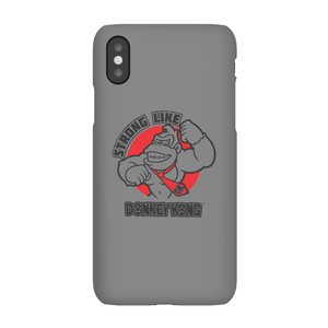 Coque Smartphone Strong Like Donkey Kong pour iPhone et Android