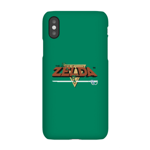 Nintendo The Legend Of Zelda Retro Logo Phone Case