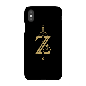 Nintendo The Legend Of Zelda Master Sword Phone Case