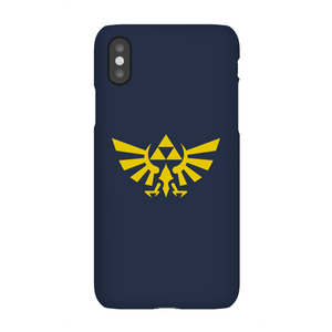 Coque Smartphone Hyrule (Gris) - The Legend Of Zelda Nintendo pour iPhone et Android