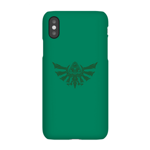 Coque Smartphone Blason Tribal Hyrule - The Legend Of Zelda Nintendo pour iPhone et Android