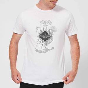 Harry Potter The Marauder's Map Men's T-Shirt - White