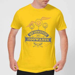 Harry Potter Quidditch At Hogwarts Men's T-Shirt - Yellow