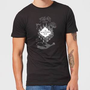 Harry Potter The Marauder's Map Herren T-Shirt - Schwarz