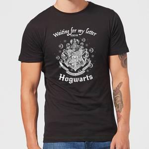 Harry Potter Waiting For My Letter From Hogwarts Men's T-Shirt - Black