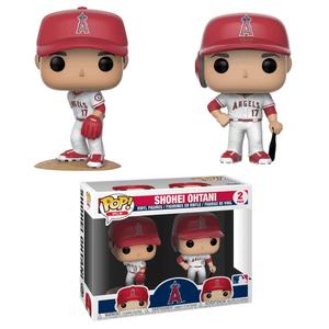 MLB Los Angeles Angels Shohei Ohtani Funko Pop! Vinyl 2 Pack