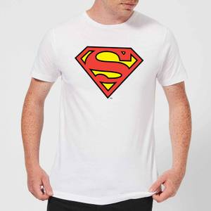 DC Originals Official Superman Shield Men's T-Shirt - White