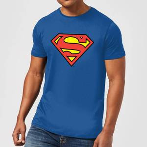 DC Originals Official Superman Shield Herren T-Shirt - Royal Blau