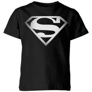 T-Shirt Enfant Logo Superman DC Originals - Noir