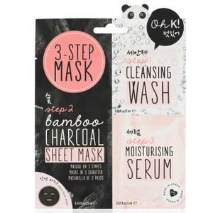 Oh K! 3 Step Mask trzyetapowa maseczka do twarzy 23 ml