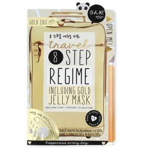 Oh K! 8 Step Mask zestaw podróżny 23 ml