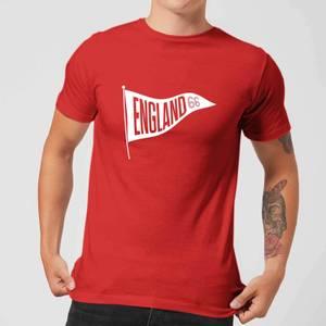 England Pennant Men's T-Shirt - Red