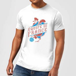 Equipe De France Men's T-Shirt - White
