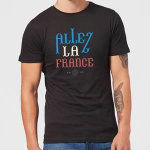 Allez La France Herren T-Shirt - Schwarz