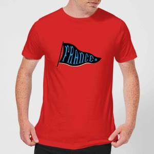 France Pennant Men's T-Shirt - Red