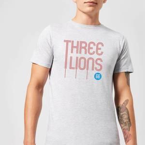 Three Lions Men's T-Shirt - Grey