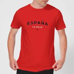 Espana La Roja Men's T-Shirt - Red