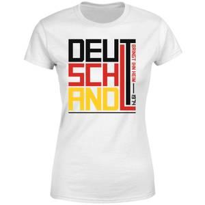 Deutschland Women's T-Shirt - White