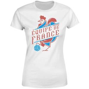 Equipe De France Damen T-Shirt - Weiß