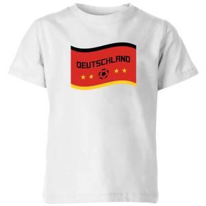 Deutschland Kids' T-Shirt - White