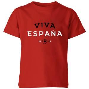 Viva Espana Kids' T-Shirt - Red