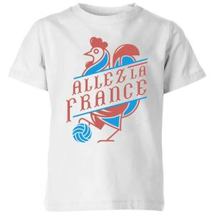 Allez La France Kids' T-Shirt - White