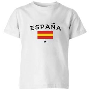 Espana Kids' T-Shirt - White