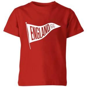 England Pennant Kids' T-Shirt - Red
