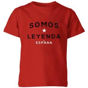 Somos Leyenda Kids' T-Shirt - Red