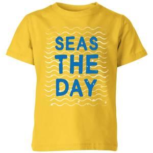 My Little Rascal Seas The Day Kids' T-Shirt - Yellow