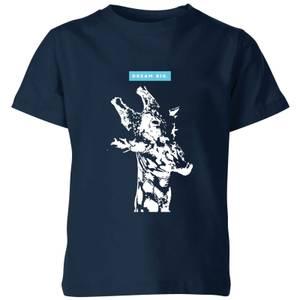 My Little Rascal Dream Big. Kids' T-Shirt - Navy