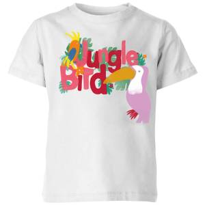 My Little Rascal Jungle Bird Kids' T-Shirt - White